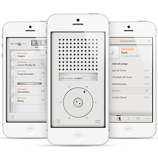 T3 Player App - Inspired by Dieter Rams