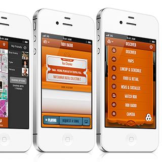 Bonnaroo iOS app