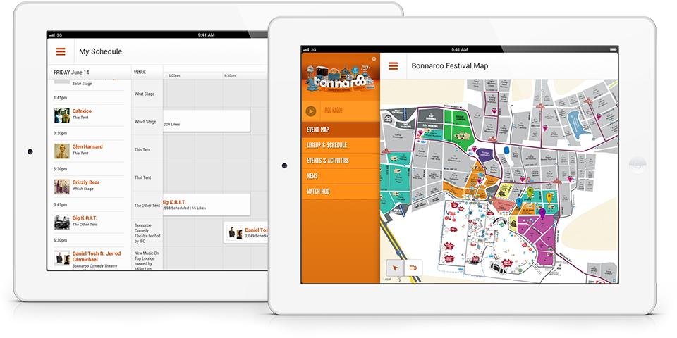 Bonnaroo iPad App