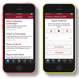 Cornerstone Presbyterian Church Franklin iOS app