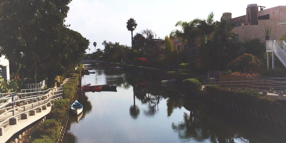 Venice Canals in Los Angeles (Filtered with OKDOTHIS)