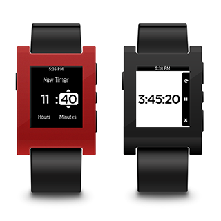 Pebble Timer Smartwatch App