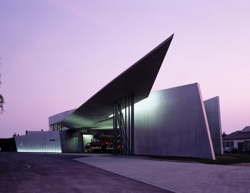 Vitra Fire Station - Parametricist Architecture by Zaha Hadid