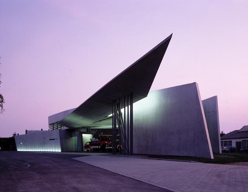 Vitra Fire Station - Parametricist Architecture by Zaha Hadid